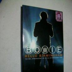 CDs de Música: DAVID BOWIE HELLO BIRMINGHAM 2003 4 X CD. Lote 279698528