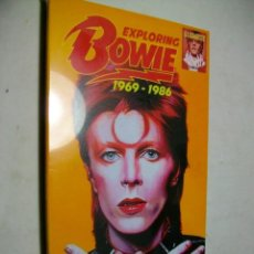 CDs de Música: DAVID BOWIE EXPLORING BOWIE 1969-1986 4 X CD NEW & SEALED. Lote 279722033