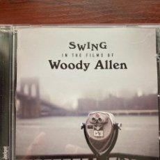 CDs de Música: SWING IN THE FILMS OF WOODY ALLEN-2012-EXCELENTE ESTADO. Lote 279732238