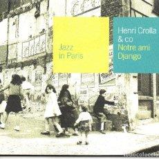 CDs de Música: HENRI CROLLA & CO* – NOTRE AMI DJANGO. Lote 279815863