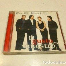 CDs de Música: EL GUSTO ES NUESTROANA BELEN SERRAT MIGUEL RIOS VICTOR MANU. Lote 279693348