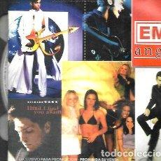 CDs de Música: EMI ANGLO 1997 ROXETTE SPICE GIRLS DURAN DURAN BLUR CD DOBLE. Lote 279717938
