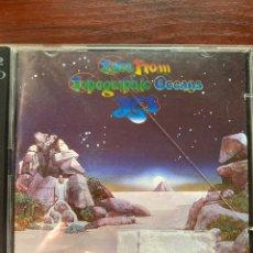 CDs de Música: YES-TALES FROM TOPOGRAPHIC OCEANS-2 CD-CDS EN EXCELENTE ESTADO. Lote 280103948