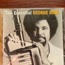 CDs de Música: GEORGE DUKE-THE ESSENTIAL-2 CD-2004-EXCELENTE ESTADO. Lote 280104888