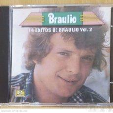 CDs de Música: BRAULIO (14 EXITOS DE BRAULIO VOL. 2) CD 1989 USA. Lote 280105378