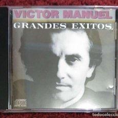 CDs de Música: VICTOR MANUEL (GRANDES EXITOS) CD 1988 * PRIMER RECOPILATORIO EN CD. Lote 280106258