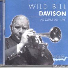 CDs de Música: WILD BILL DAVISON – AS LONG AS I LIVE. Lote 280110133