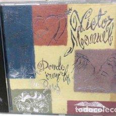 CDs de Música: VICTOR MANUEL A DONDE IRAN LOS BESOS 1993. Lote 279784913
