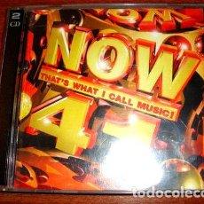 CDs de Música: CD NOW 41 ROBBIE WILLIAMS AQUA SPICE GIRLS THE CORRS. Lote 279795943