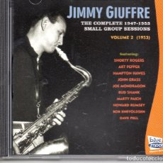 CDs de Música: JIMMY GIUFFRE – THE COMPLETE 1947-1953 SMALL GROUP SESSIONS VOL. 2 (1953). Lote 280110738
