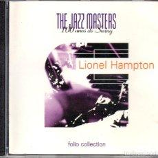 CDs de Música: LIONEL HAMPTON – THE JAZZ MASTERS - 100 AÑOS DE SWING. Lote 280113318