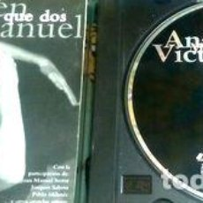 CDs de Música: ANA BELEN VICTOR MANUEL MUCHO MAS QUE DOS. Lote 279877313