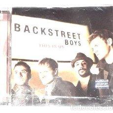 CDs de Música: CD BACKSTREET BOYS THIS IS US ORIGINAL. Lote 279932363