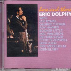 CDs de Música: ERIC DOLPHY – HERE AND THERE. Lote 280115393