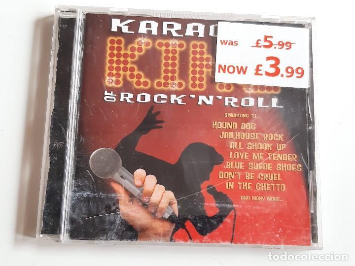 CD KARAOKE REY DEL ROCK'N'ROLL (Música - CD's Otros Estilos)