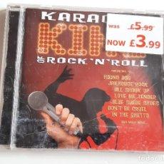 CDs de Música: CD KARAOKE REY DEL ROCK'N'ROLL. Lote 280115858