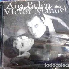 CDs de Música: CD ANA BELEN VICTOR MANUEL MUCHO MAS QUE DOS EN LA PLATA. Lote 279952488