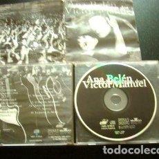 CDs de Música: ANA BELEN VICTOR MANUEL MUCHO MAS QUE DOS 1994 ARGENTINA CD. Lote 279954413