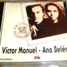 CDs de Música: VICTOR MANUEL ANA BELEN CD ARG. Lote 279966818