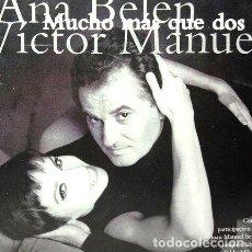 CDs de Música: ANA BELEN Y VICTOR MANUEL MUCHO MAS QUE DOS 2 CD. Lote 279977398