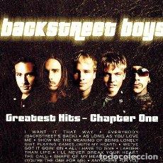 CDs de Música: BACKSTREET BOYS GREATEST HITS CHAPTER ONE S. Lote 279994033
