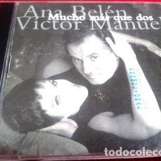 CDs de Música: ANA BELEN Y VICTOR MANUEL MUCHO MAS QUE DOS PROMO. Lote 280012933