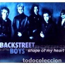 CDs de Música: SHAPE OF MY HEART BACKSTREET BOYS SINGLE YAPA. Lote 280015353