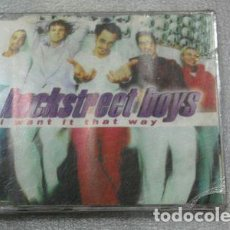 CDs de Música: CD SINGLE BACKSTREET BOYS I WANT IT THAT WAY EN LA PLATA. Lote 280019483