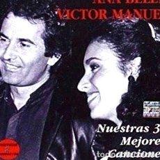 CDs de Música: CD ANA BELEN Y VICTOR MANUEL NUESTRAS 30 MEJORES CANCIONES. Lote 280027408