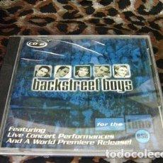 CDs de Música: CD BACKSTREET BOYS EDICION LIMITADA POP IMPORTADA DE EEUU. Lote 280045338