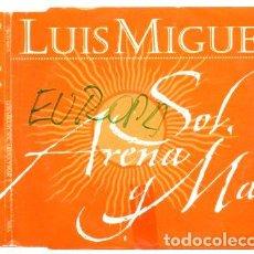 CDs de Música: LUIS MIGUEL SOL ARENA Y MAR 1999 CD SINGLE PROMO. Lote 280048318