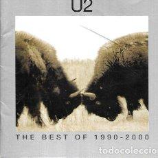 CDs de Música: U2 ALBUM THE BEST OF 1990 2000 SELLO UNIVERSAL CD. Lote 280090558