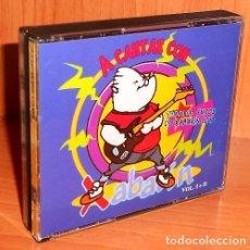 CDs de Música: A CANTAR CON XABARIN. (VOL. I+II). DOBLE. TODOS LOS EXITOS XABARIN CLUB. GALICIA. COMO NUEVO.. Lote 280121763