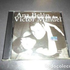 CDs de Música: ANA BELEN VICTOR MANUEL MUCHO MAS QUE DOS CD. Lote 280051808