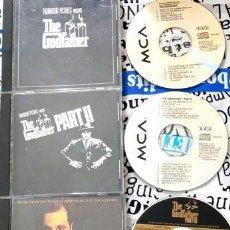 CDs de Música: EL PADRINO THE GODFATHER 1 2 Y 3 IMPORTADOS EEUU. Lote 280053033