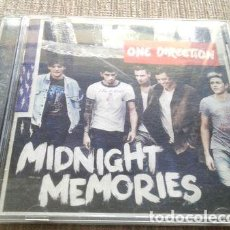 CDs de Música: ONE DIRECTION MIDNIGHT MEMORIES CD USADO BACKSTREET BOYS. Lote 280053893