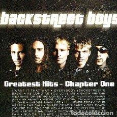 CDs de Música: BACKSTREET BOYS GREATEST HITS CHAPTER ONE CD. Lote 280071728
