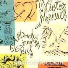 CDs de Música: VICTOR MANUEL CD A DONDE IRAN LOS BESOS ESPANA. Lote 280078558