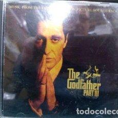 CDs de Música: CD SOUNDTRACK EL PADRINO 3 THE GODFATHER 3 BANDA SONIDO LA P. Lote 280083688
