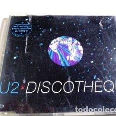 CDs de Música: U2 DISCOTHEQUE CD SINGLE MADE IN UK. Lote 280087808