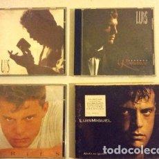 CDs de Música: LUIS MIGUEL KIT DE 4 CDS ORIGINALES CON CAJA Y LIBRITO. Lote 280091413