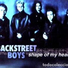 CDs de Música: BACKSTREET BOYS CD SHAPE OF MY HEART MAXI SINGLE. Lote 280095898
