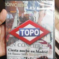 CDs de Música: TOPO - CIERTA NOCHE EN MADRID 2CD+2DVD. Lote 280125748