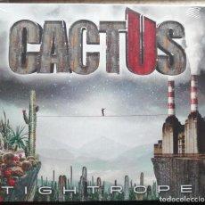 CDs de Música: CACTUS - TIGHTROPE (2021) DIGIPACK USA HARD ROCK CARMINE APPICE. Lote 280126143