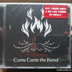CDs de Música: COME TASTE THE BAND - REIGNITION (2019) HARD ROCK FEAT. JOE LYNN TURNER & DOUGIE WHITE RAINBOW. Lote 280126433