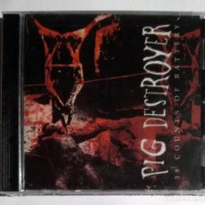 CDs de Música: PIG DESTROYER - 38 COUNTS OF BATTERY CD NUEVO Y PRECINTADO - GRINDCORE. Lote 280126588