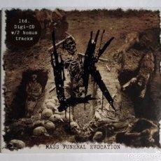CDs de Música: LIK - MASS FUNERAL EVOCATION CD DIGIPAK NUEVO Y PRECINTADO - DEATH METAL. Lote 280128653