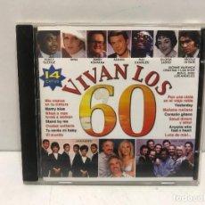 CDs de Música: CD VIVAN LOS 60 14 CANCIONES EDIT.2001. Lote 280354208