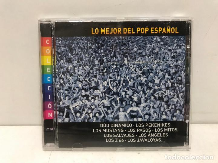 CD LO MEJOR DEL POP ESPAÑOL 2001 (Música - CD's Pop)