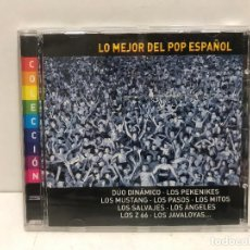 CDs de Música: CD LO MEJOR DEL POP ESPAÑOL 2001. Lote 280354298